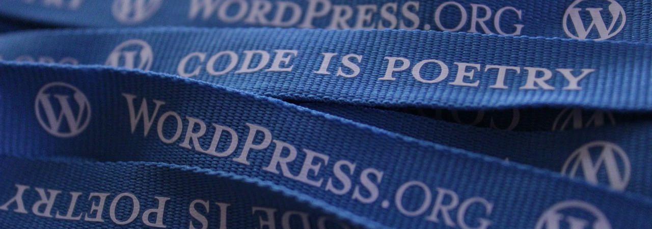 WordPress código poesia
