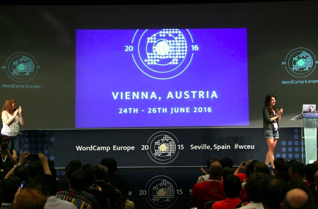Anúncio de Viena como sede do WCEU 2016.