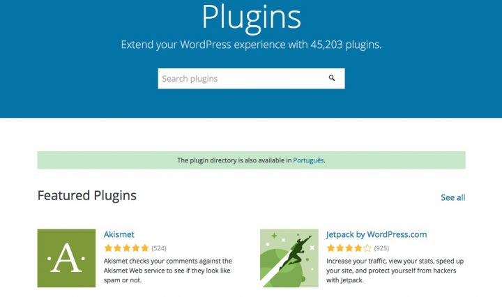Directoria Plugins WordPress