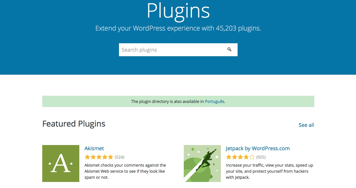 Directoria Plugins WordPress