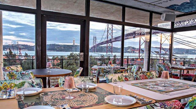 Vista a partir do restaurante do Rio Maravilha