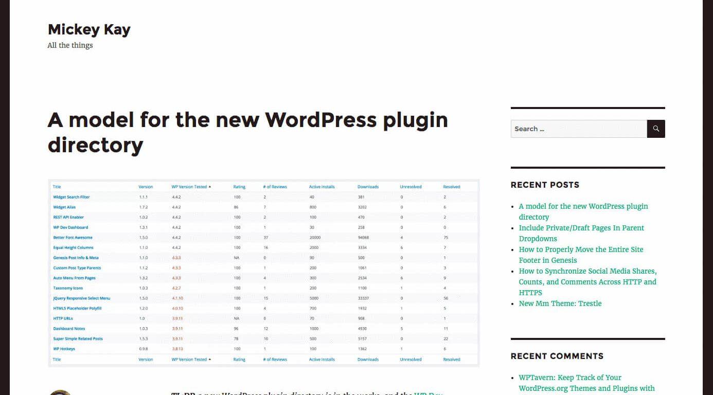 Archive - plugin para revisões visuais de alterações num site WordPress