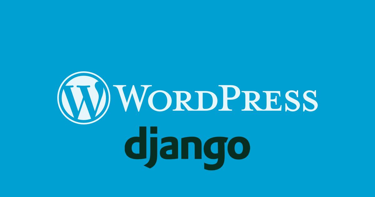 WordPress Django