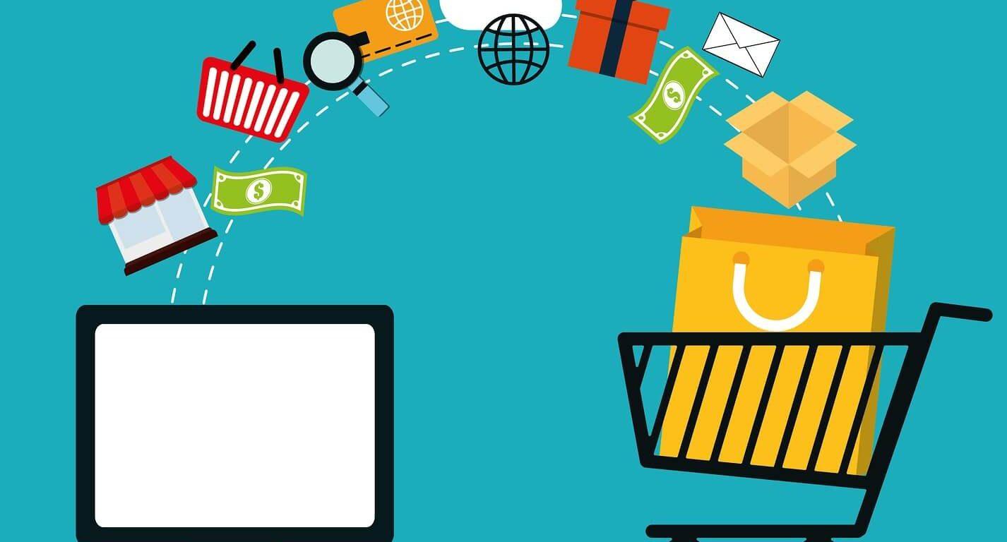 comércio electrónico a crescer