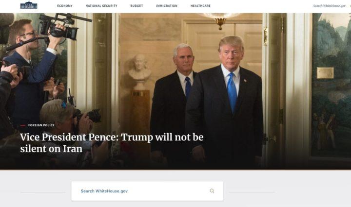 Site da Casa Branca passou a usar WordPress