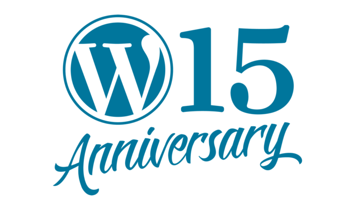 WordPress 15 anos