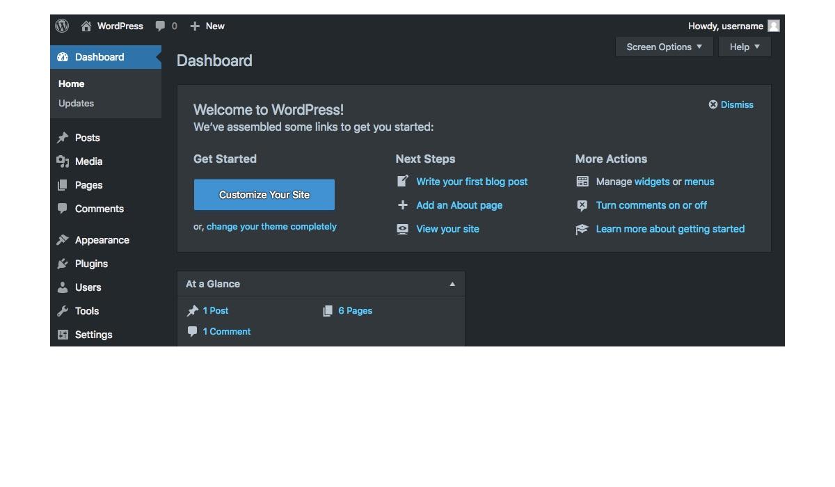 Modo nocturno para o WordPress